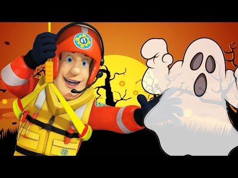 Fireman Sam US New Episodes | Fire Alarm at the Halloween Party 🎃 1 Hour | Cartoons for Children
