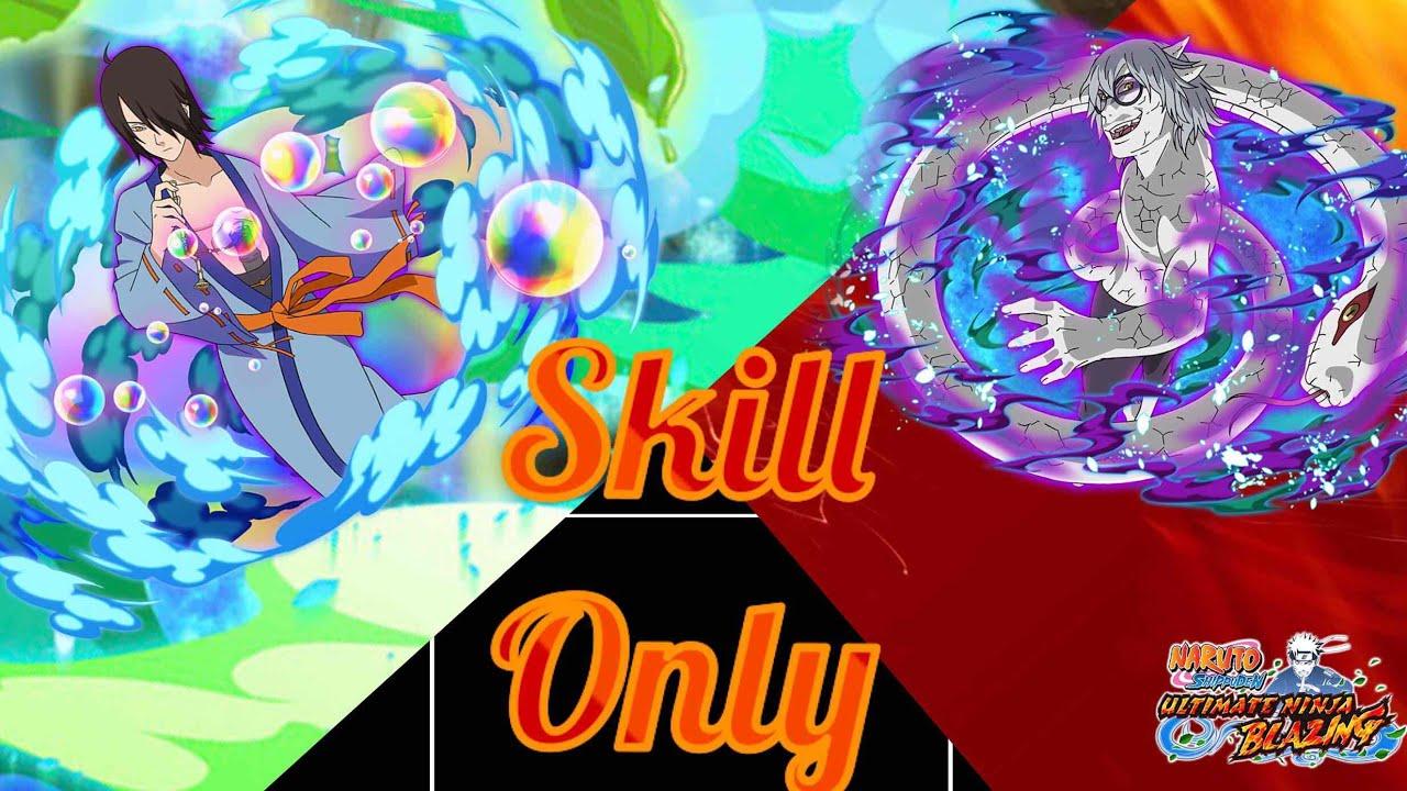Kabuto S-Rank! Skill Only! No Pearls! | Naruto Ultimate Ninja Blazing