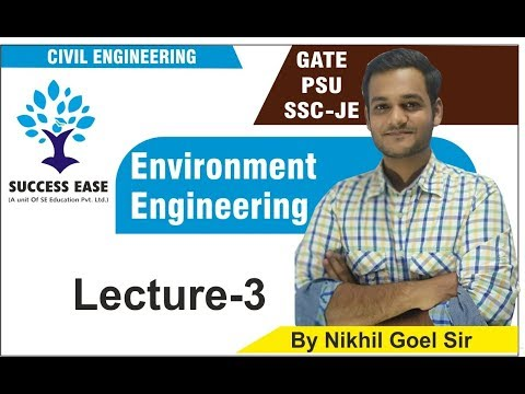Lec- 03 | Environment By Nikhil Sir | Civil Engg. | GATE | PSU | SSC JE || SUCCESS EASE ||