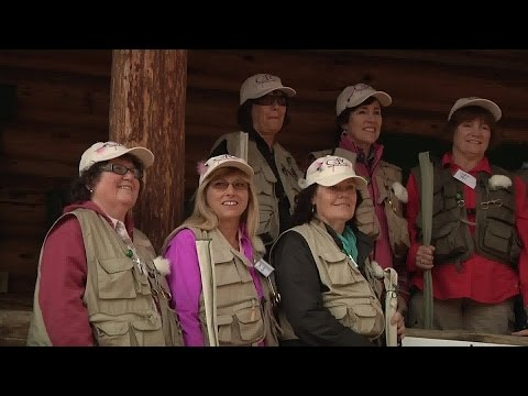 Montana Breast Cancer Survivors Find Healing Through Fly Fishing