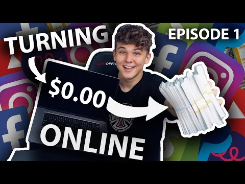 I Tried Turning $0 into $10k Online Challenge (Part 1) thumbnail