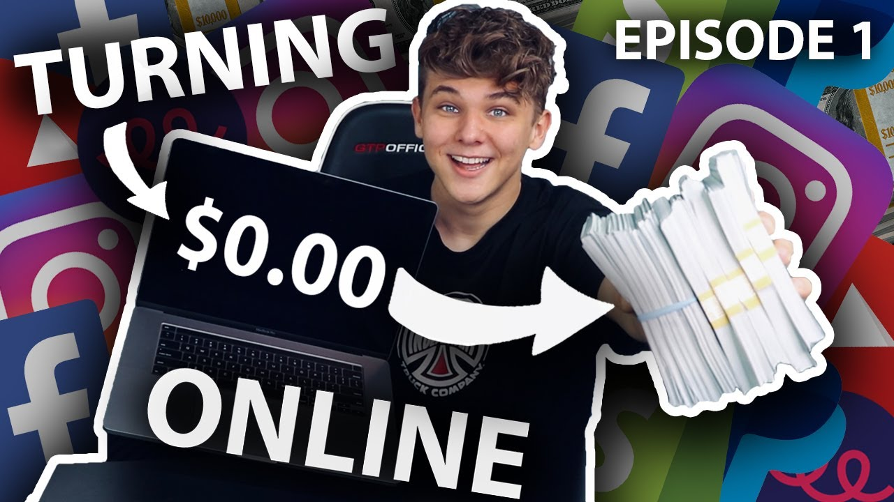 I Tried Turning $0 into $10k Online Challenge (Part 1)