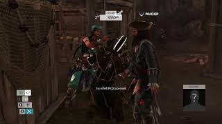Assassin's Creed IV Black Flag Multiplayer Deathmatch-Heh...at least i tried-