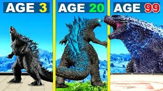 Surviving 99 YEARS As GODZILLA In GTA 5 ...