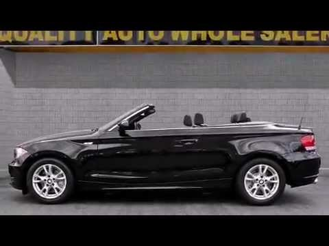 2008 BMW 1 Series 128i Convertible Premium Pkg Leather Cabriolet ...