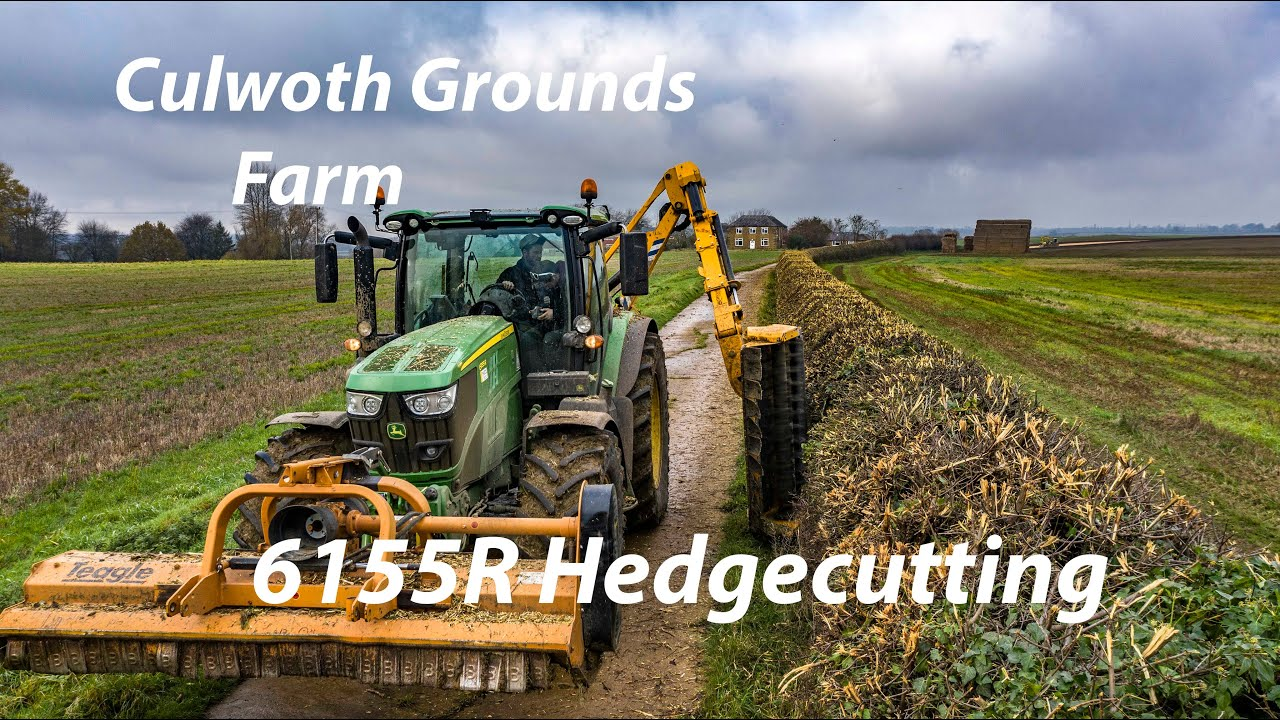 Culworth Grounds Farm - Hedgecutting