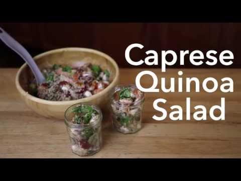 Easy Family Dinner Idea: Caprese Quinoa Salad   Care.com