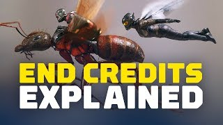 Ant-Man and the Wasp End Credits Scenes Explained (SPOILERS!)