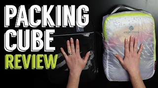 Packing Cube Review: Eagle Creek Pack-It Clean Dry Cube and Specter Set
