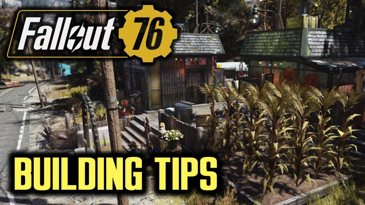 Fallout 76 Wastelanders -  Camp Building Tips thumbnail