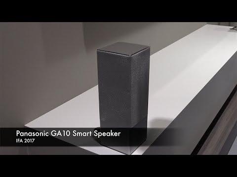 IFA 2017: Panasonic GA10 Smart Speaker