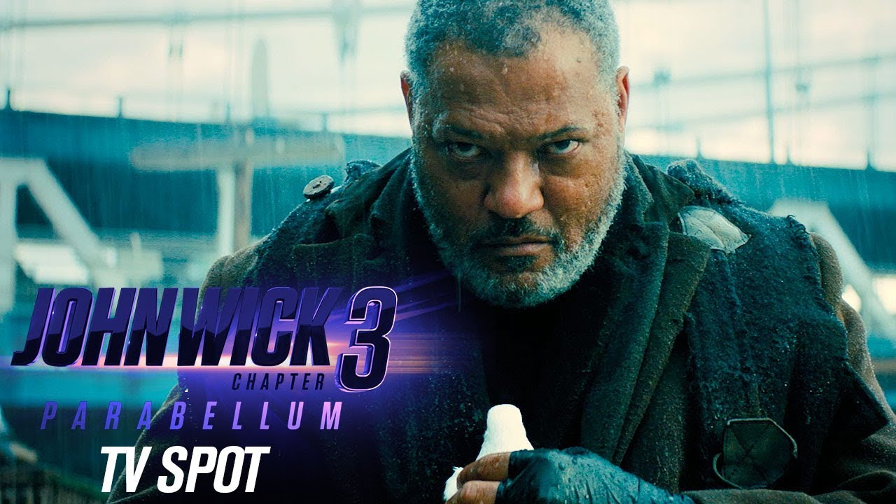 John Wick Chapter 3 Parabellum 2019 Movie Official Tv Spot Bounty Keanu Reeves Halle Berry