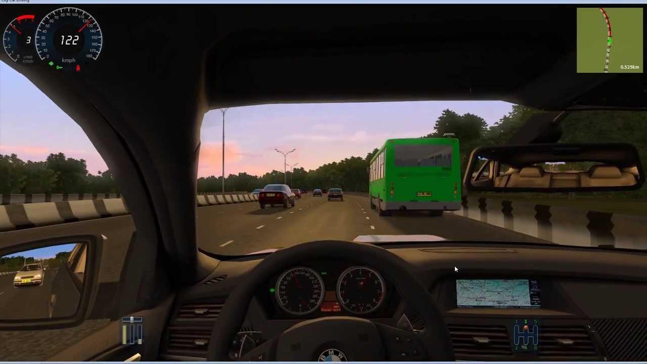 Bmw X6 M Traffic Jam City Car Driving Youtube