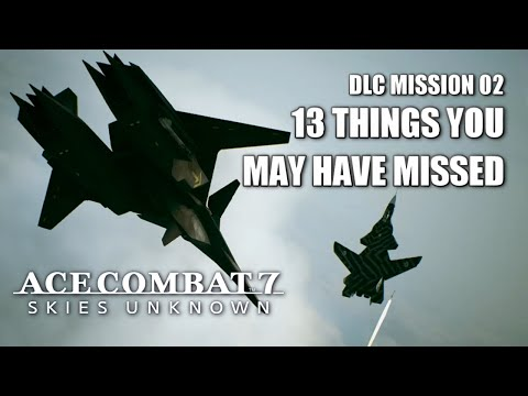 """Things You May Have Missed In """"Anchorhead Raid"""" - Ace Combat 7: Skies Unknown DLC"""