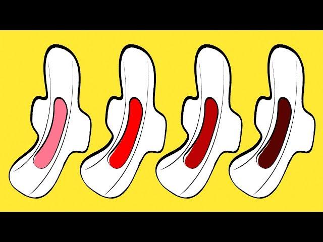سبعة أشياء يكشفها لون دم الحيض عن صحتك Youtube
