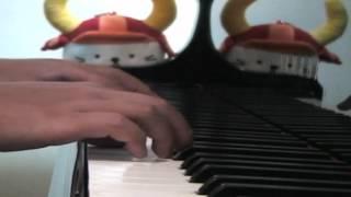 """楽譜はドレミ楽譜出版社の""""ピアノ・ソロ・アルバム「紅の豚」""""のものを 使いました。「生まれ変わったら鳥になって自分の翼で飛行機のように..."""