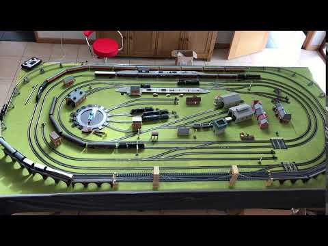 Huge Hornby Model Railway Digital Train Set Jadlam HL12