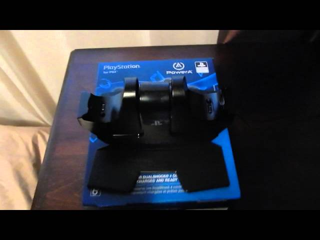 Review-Power A Dualshock 4 Charging Station