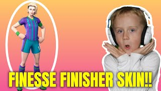 FINESSE FINISHER SOCCER SKIN | FORTNITE!