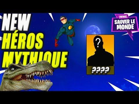 New Héros mythique , Arme & Superproduction Part 2 ! Fortnite Sauver le Monde