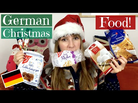 Tasting German Christmas food!