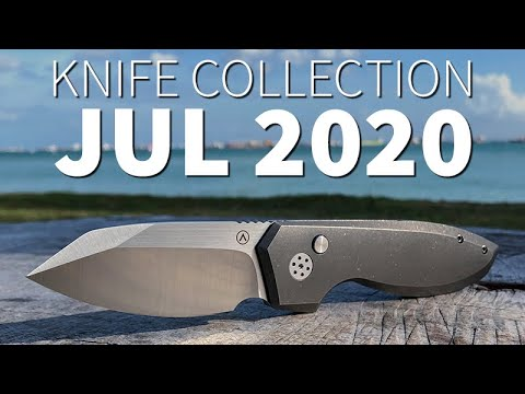 Knife Collection July 2020 – Average Singaporean