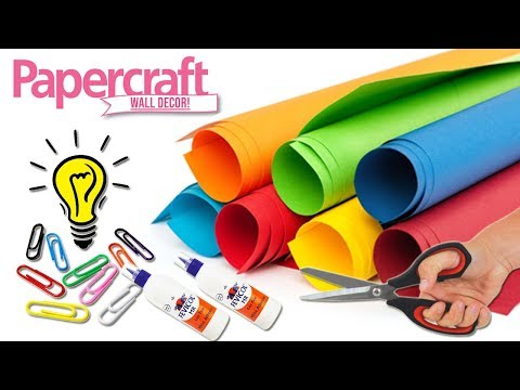 Paper craft home decor ideas | DIY Home Decorating Idea with Paper | Wall Hanging DIY