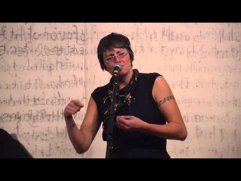 Tanya Davis performs at Words Aloud 9