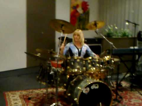 Cindy davis  Drumsolo
