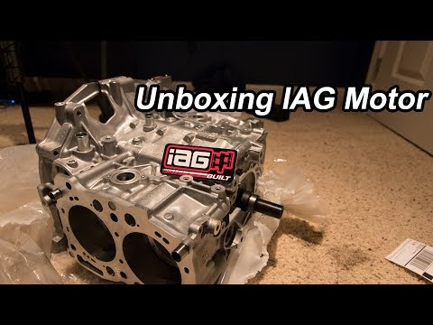 IAG motor Stage 3 unboxing