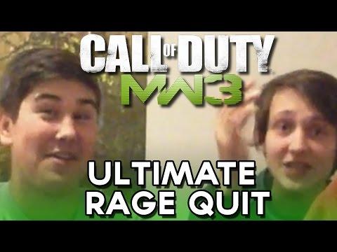 Call of Duty Modern Warfare 3 Multiplayer (Gun Game) | Ultimate Rage Quit!!!!