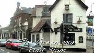 Shows a selection of pubs in the East End and greater East London a...