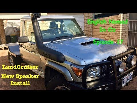 LandCruiser Overland Build _ New Speakers Install _ Ep 17