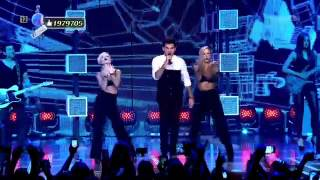 2015-08-29 Adam Lambert - Ghost Town & Another Lonely Night - ESKA Music Awards [Poland]