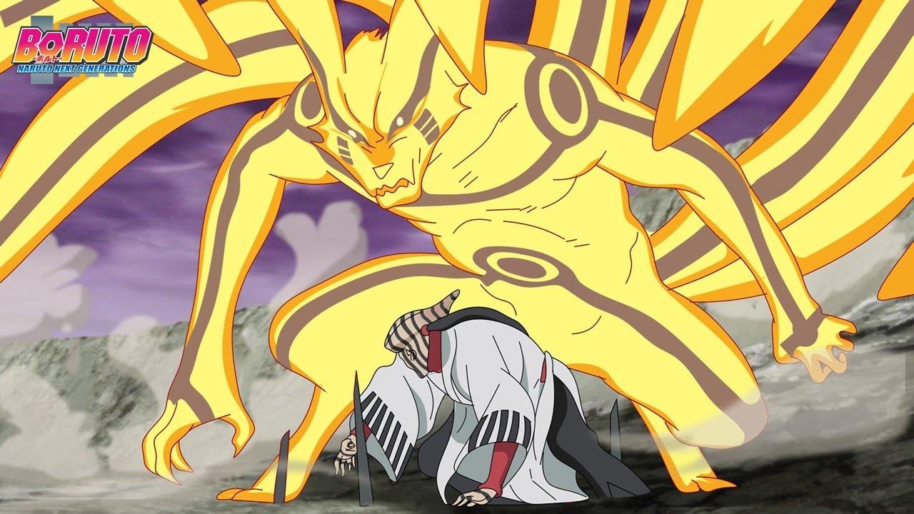 Naruto vs Jigen Kurama admite que jigen é mais poderoso que Naruto - Boruto Episodio 204