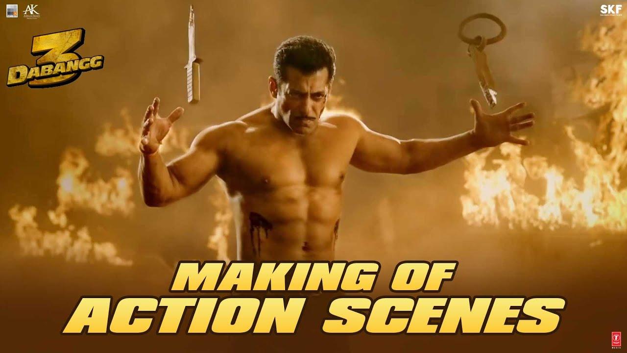 Dabangg 3: Making of Action Scenes | Salman Khan, Sudeep Kiccha | Prabhu Deva | 20th Dec'19