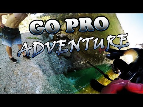 CLIFF JUMPING/ SURFING ADVENTURE pt.1| GoPro HERO 5