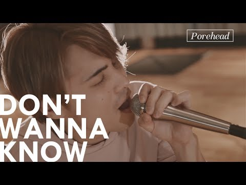 Don't Wanna Know - Maroon 5 (Acoustic Cover) by Porehead