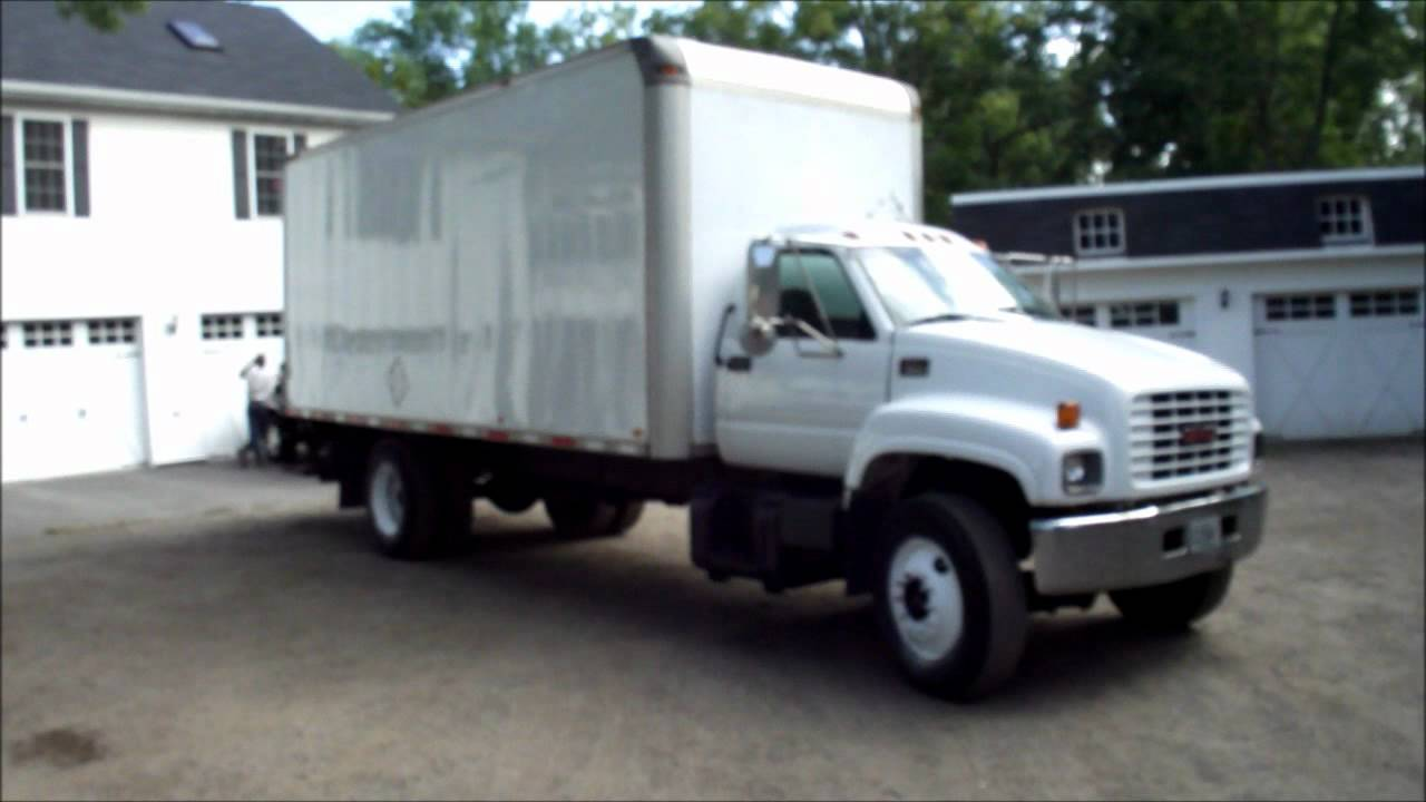 2000 GMC Chevrolet C6500 24 Foot Box Truck Cat Diesel ...