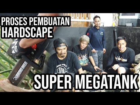 update-super-megatank-part-ii---pembuatan-hardscape-bareng-dama-refiyuda,-herry-rasio-&-yoyo-prayogi