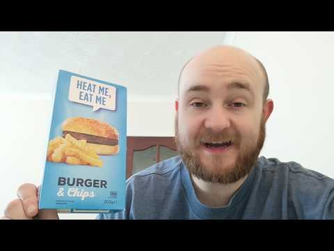 Burger & Chips By Heat Me, Eat Me -- Snack Tube