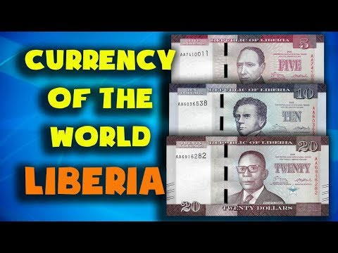 Currency of the world - Liberia. Liberian dollar. Exchange rates Liberia.Liberian banknotes coins