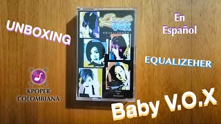 Unboxing - Baby V.O.X (베이비복스) EQUALIZEHER | En Español
