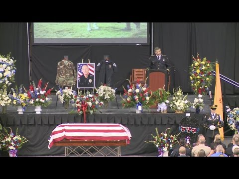 "Video: Funeral for fallen Rio Rancho Officer Greg ""Nigel"" Benner"