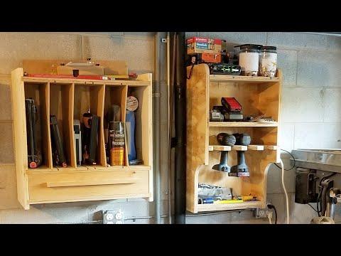 Nail Gun Cabinet