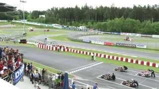 CIK-FIA European Championship 2013, Wackersdorf Germany - KZ Final