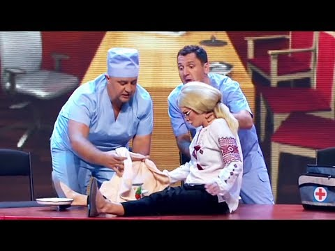 ПРИКОЛЫ про ВРАЧЕЙ - Особенности НАЦИОНАЛЬНОЙ Медицины - МАРТ 2020 - Дизель Шоу