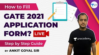 How to Fill GATE 2021 Application Form? (Step by Step) | GATE 2021 Registration | Documents Required