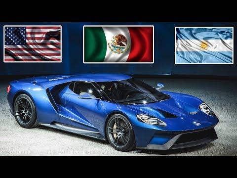 Los 3 autos más lujosos y poderosos del continente americano