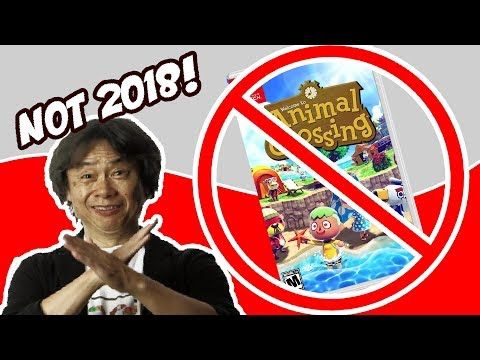 Animal Crossing Switch is not coming this year. Here's why